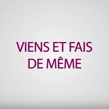 «DÉCOUVRE NOTRE VOCATION ET REJOINS-NOUS»