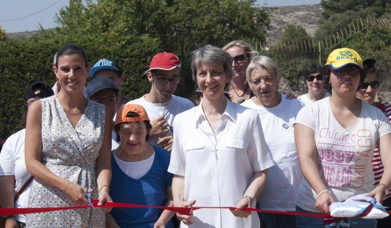 Inauguration du parcours santé au Centre Saint Raphaël à Marseille