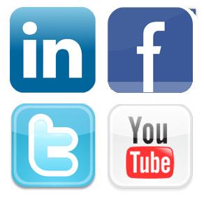 Un compte Youtube et un compte LinkedIn