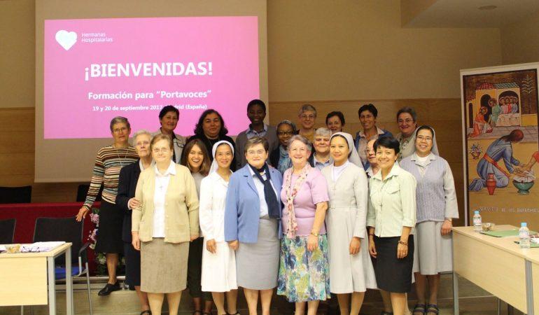 Formation «porte-paroles» pour les Sœurs !