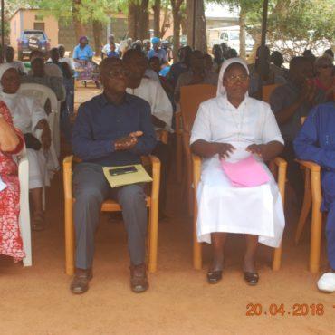 Bénédiction et inauguration du service Néonatalogie de l'Hôpital d'Enfants Yendube