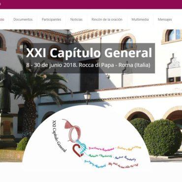 Création d'un micro-site pour notre XXIème Chapitre général