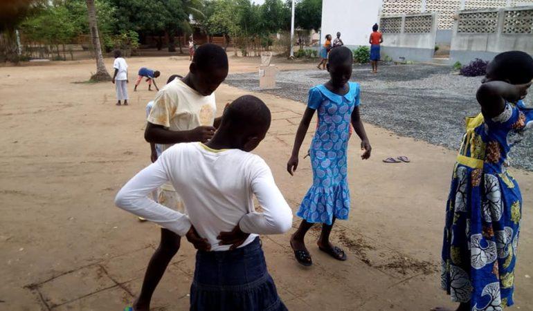 Vacances des enfants de l'association Vivre dans l'espérance