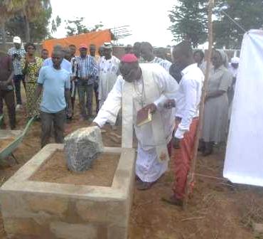 Pose de la première pierre du Centre de Santé Mentale Yendube de Dapaong