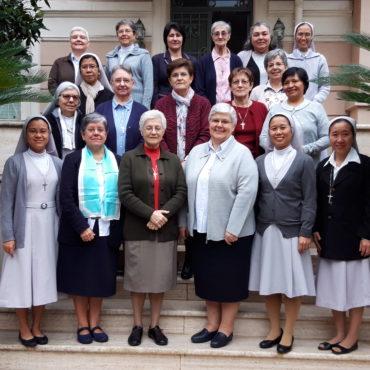 Rencontre des Conseillères et de Économes à Rome