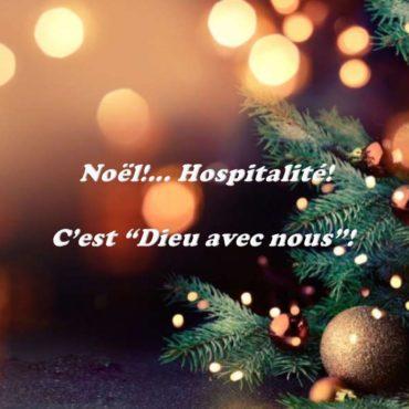 Message de Noël de la Supérieure générale à la Communauté Hospitalière