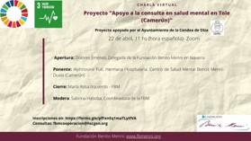 CONFÉRENCE VIRTUELLE. Projet «Soutien à la consultation en santé mentale à Tole (Cameroun)». 22 avril 2021