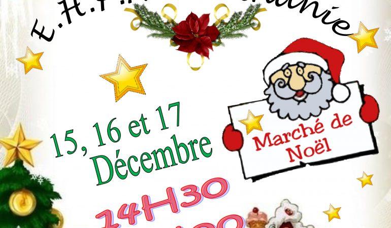 Marché de Noël de la Maison de Retraite Béthanie ( Saint-Amand-Les-Eaux)