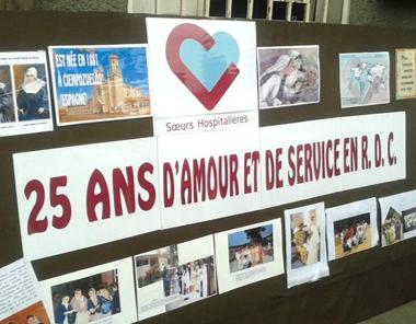 25 ans de présence en RDC