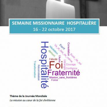 Semaine Missionnaire Hospitalière 2017