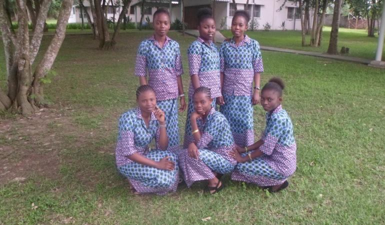 Session des Jeunes Postulantes de Kinshasa