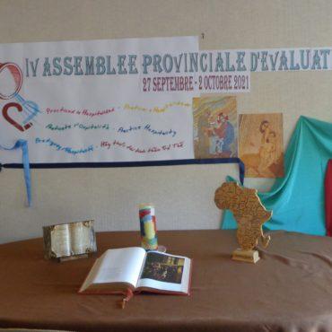 IV Assemblée Provinciale d'Évaluation. 27 septembre – 2 octobre 2021