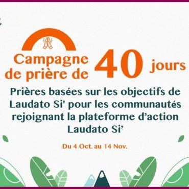 Campagne de prière et de promotion de LSAP (Plateforme d'Action Laudato Si)